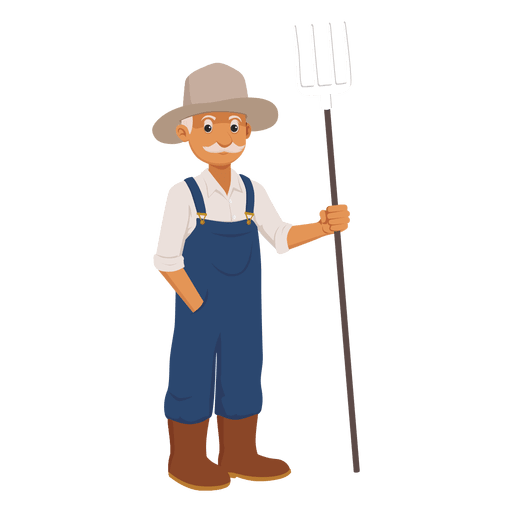 Farmer svg. Old cartoon transparent png