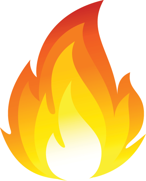 Cartoon fire png. Flames transparent stickpng