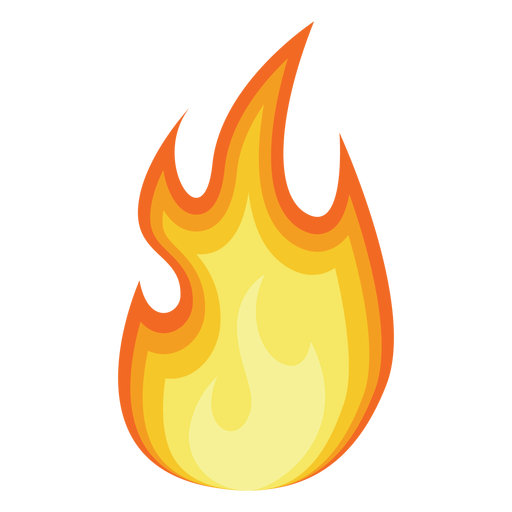 Cartoon flames png. Fire silhouette transparent free