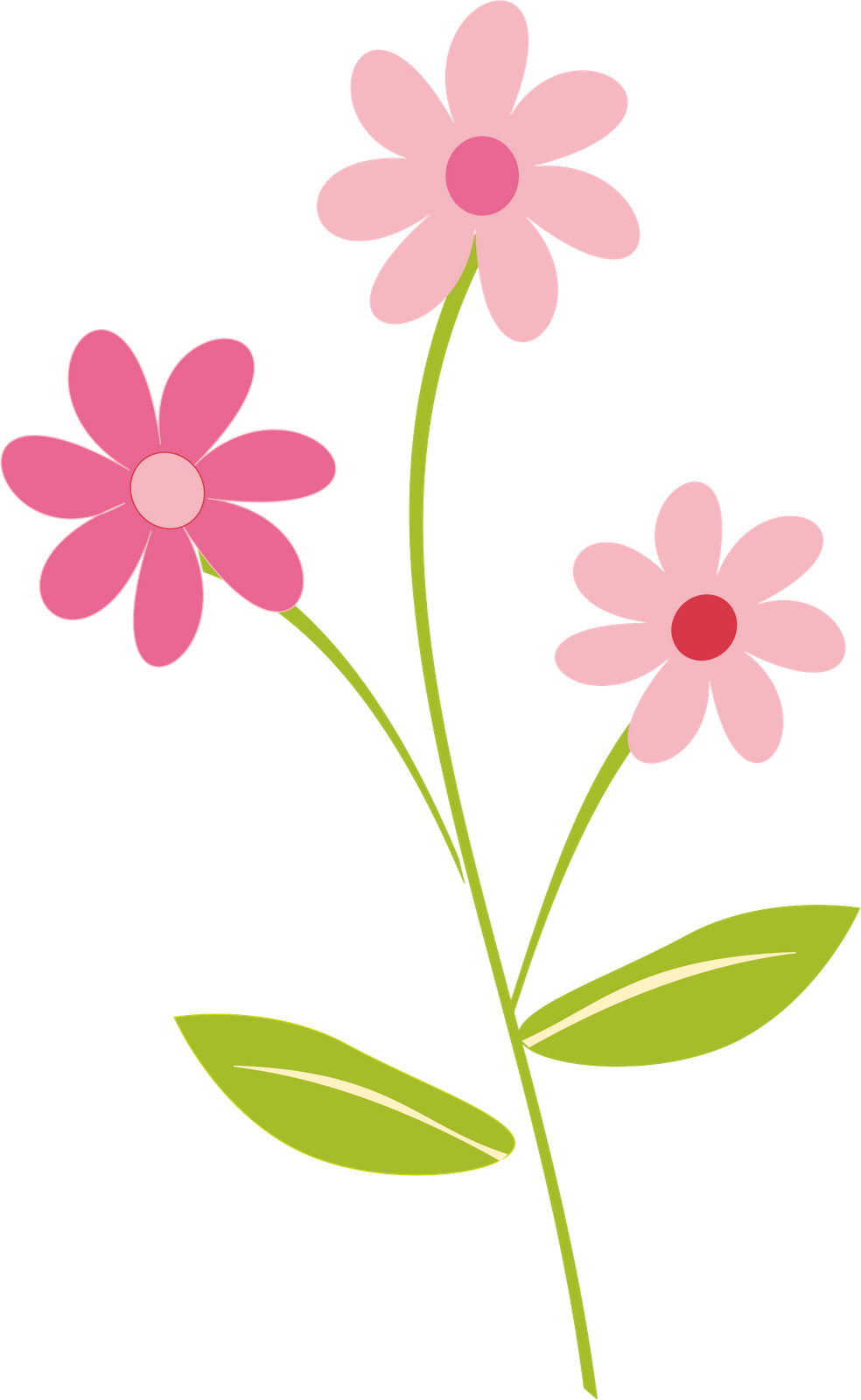 Spring flower clipart png. Svg royalty free techflourish