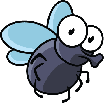 Cartoon fly png. Pest control for kids