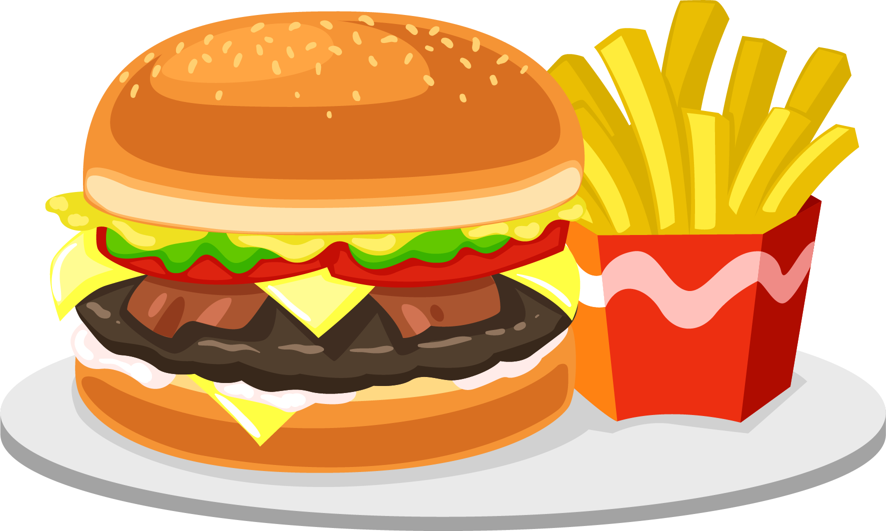 Junk food png. Transparent quality images only
