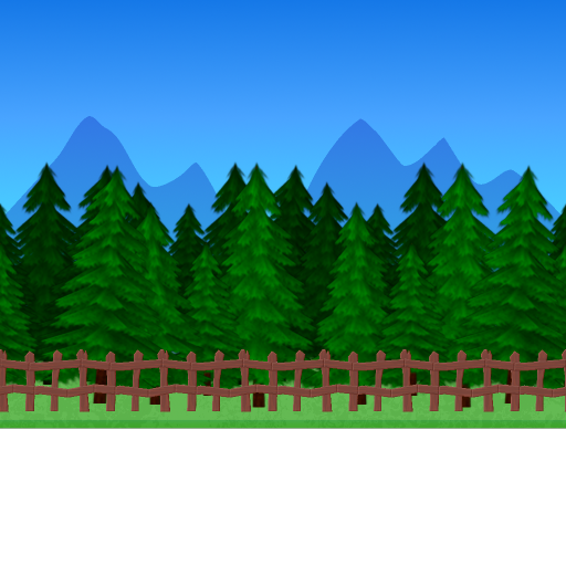 Cartoon forest png. My actual work on