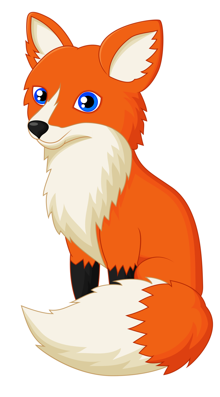 Fox cartoon png. Matty cute images