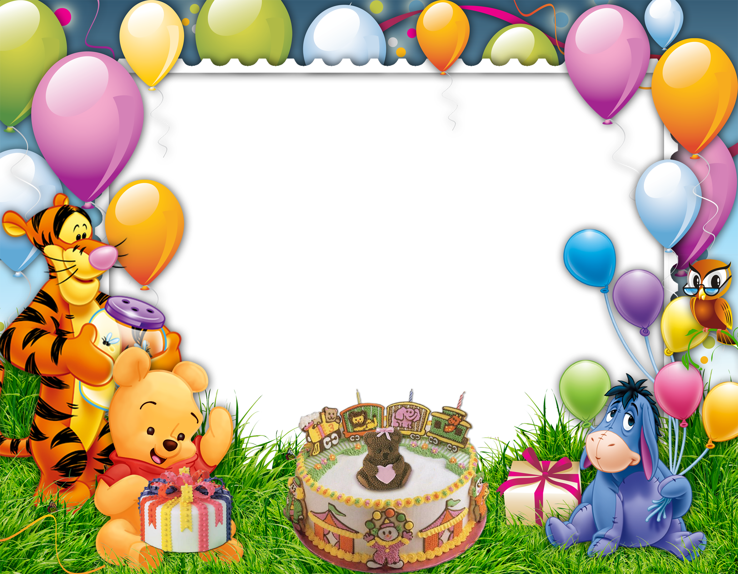 Cartoon frame png. Birthday images free download