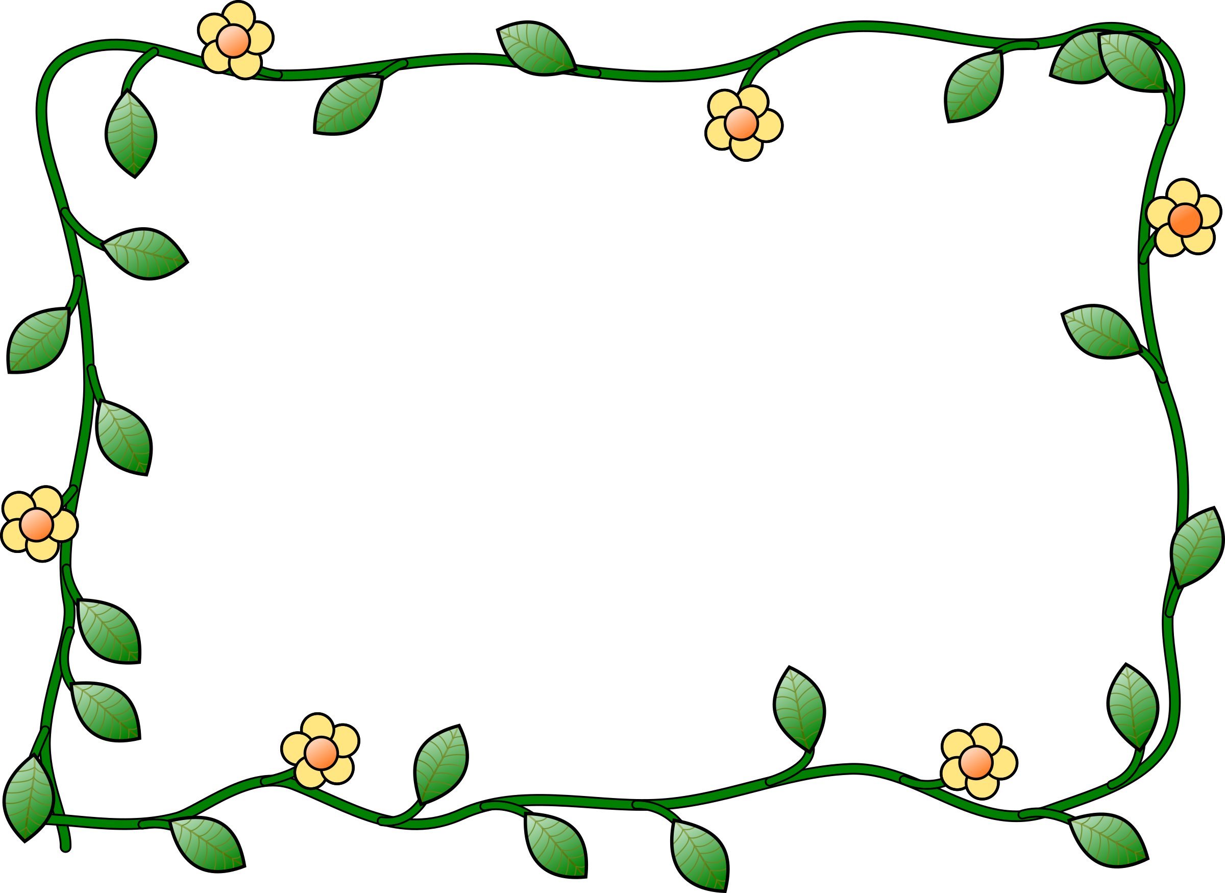 Cartoon frame png. Flower icons free and