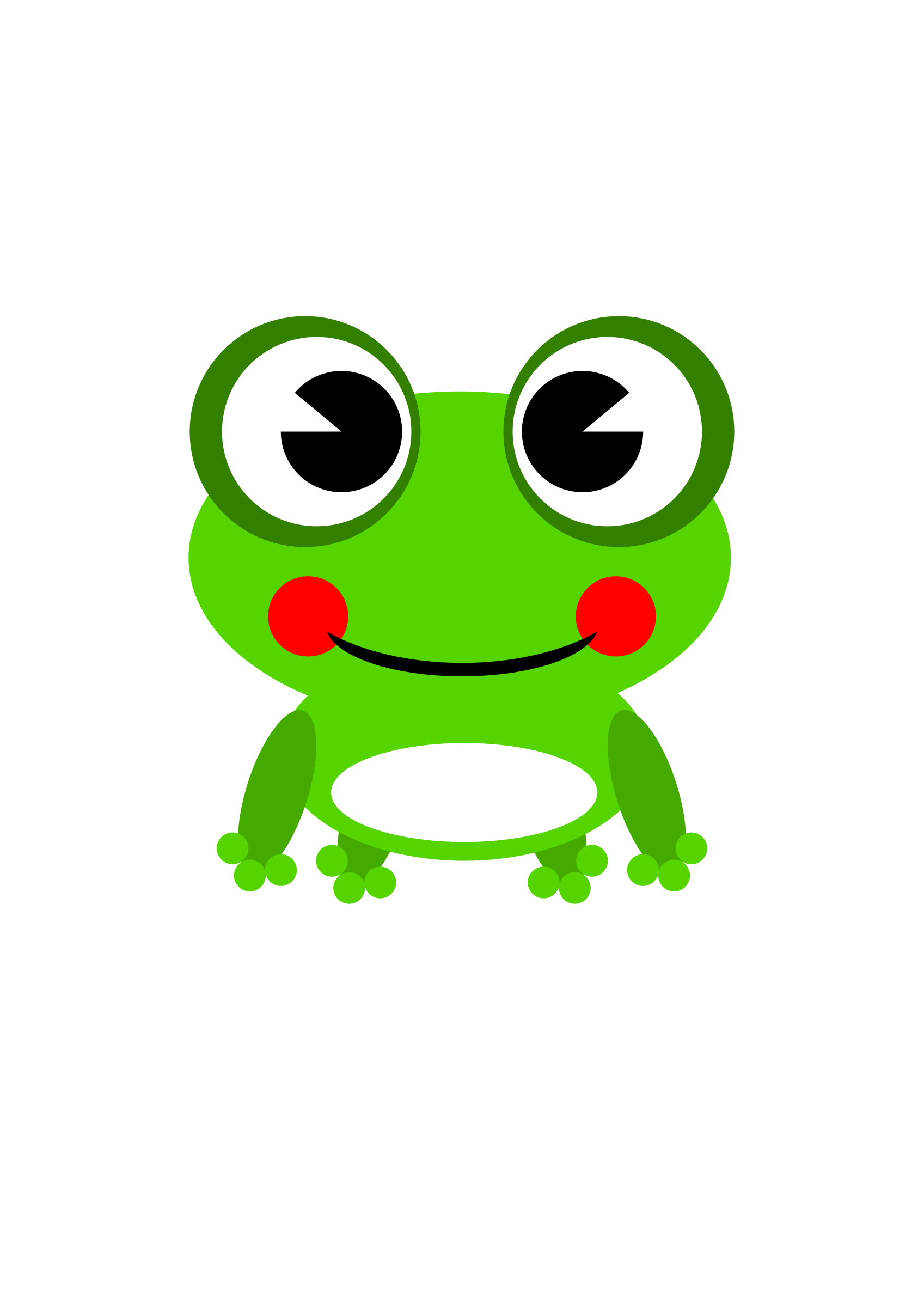 Cartoon frog png. Clipart by ramy big