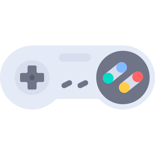 Cartoon gaming controller png. Arcade technology video game