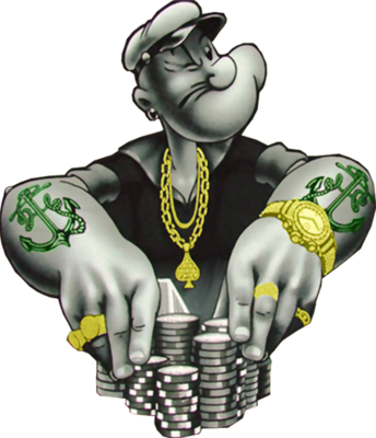 Cartoon gangster png. Photos psd detail popeye