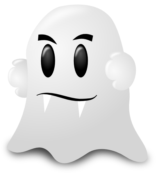 Cartoon ghost png. Clip art at clker