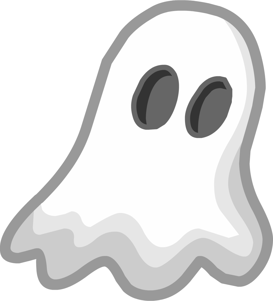 Cartoon ghost png. Image halloween emoticons club