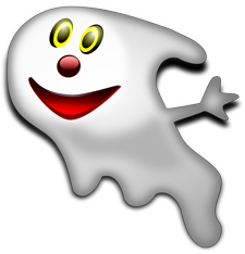 Cartoon ghost png. Clipart and vector graphics