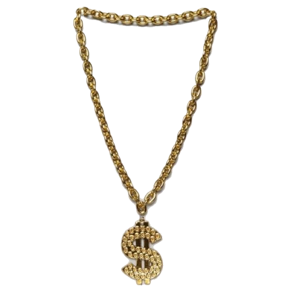 Gangster chains png. Thug life gold chain