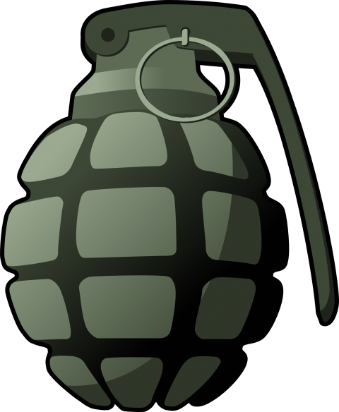 grenade silhouette png