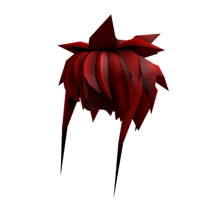 Cartoon hair png. Image red roblox wikia