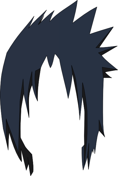 Sasuke head png. Anime hair transparent images