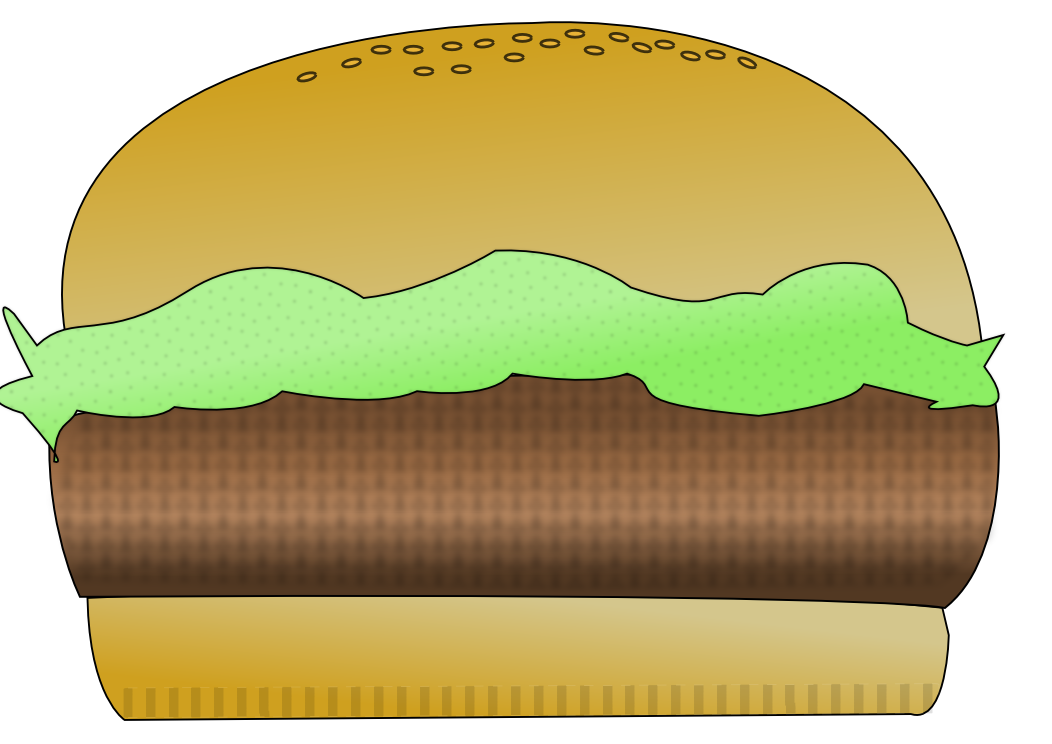 Cartoon hamburger png. File wikimedia commons filehamburger