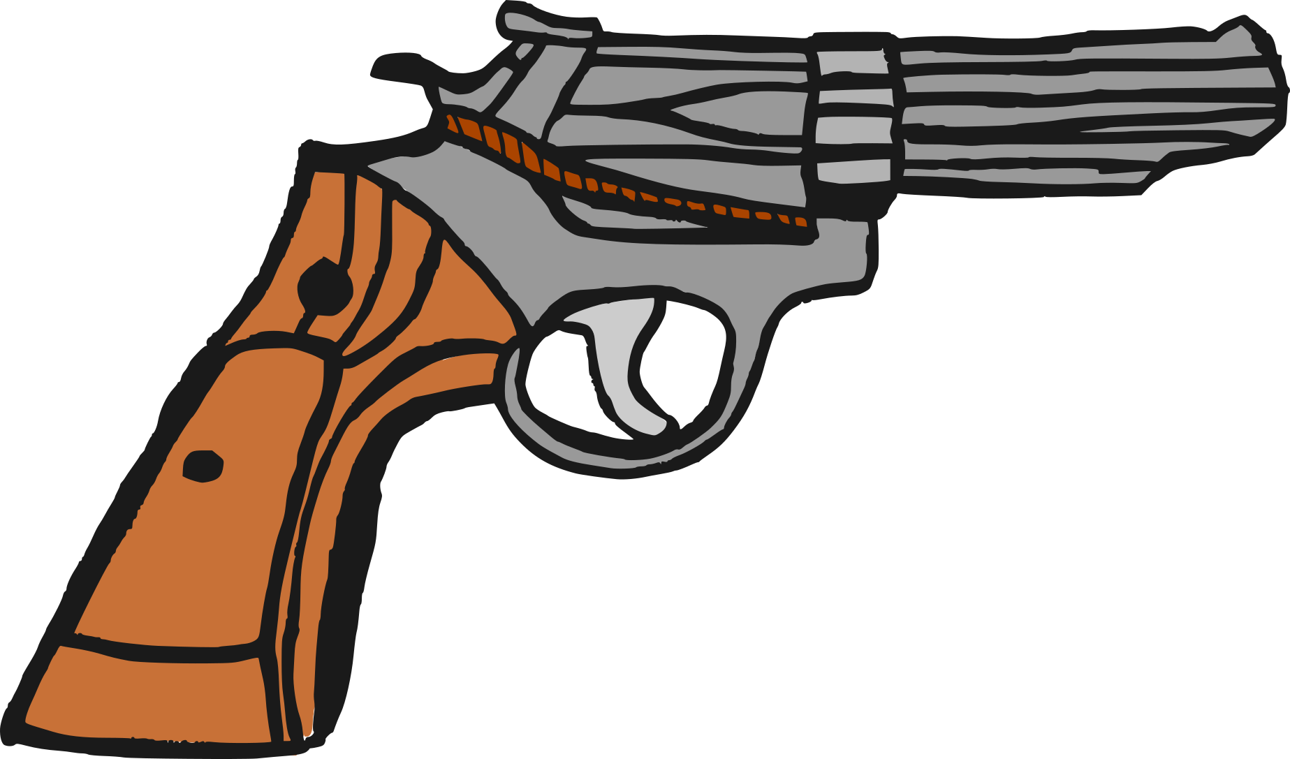 Drawing pistol comic. Png transparent onlygfx