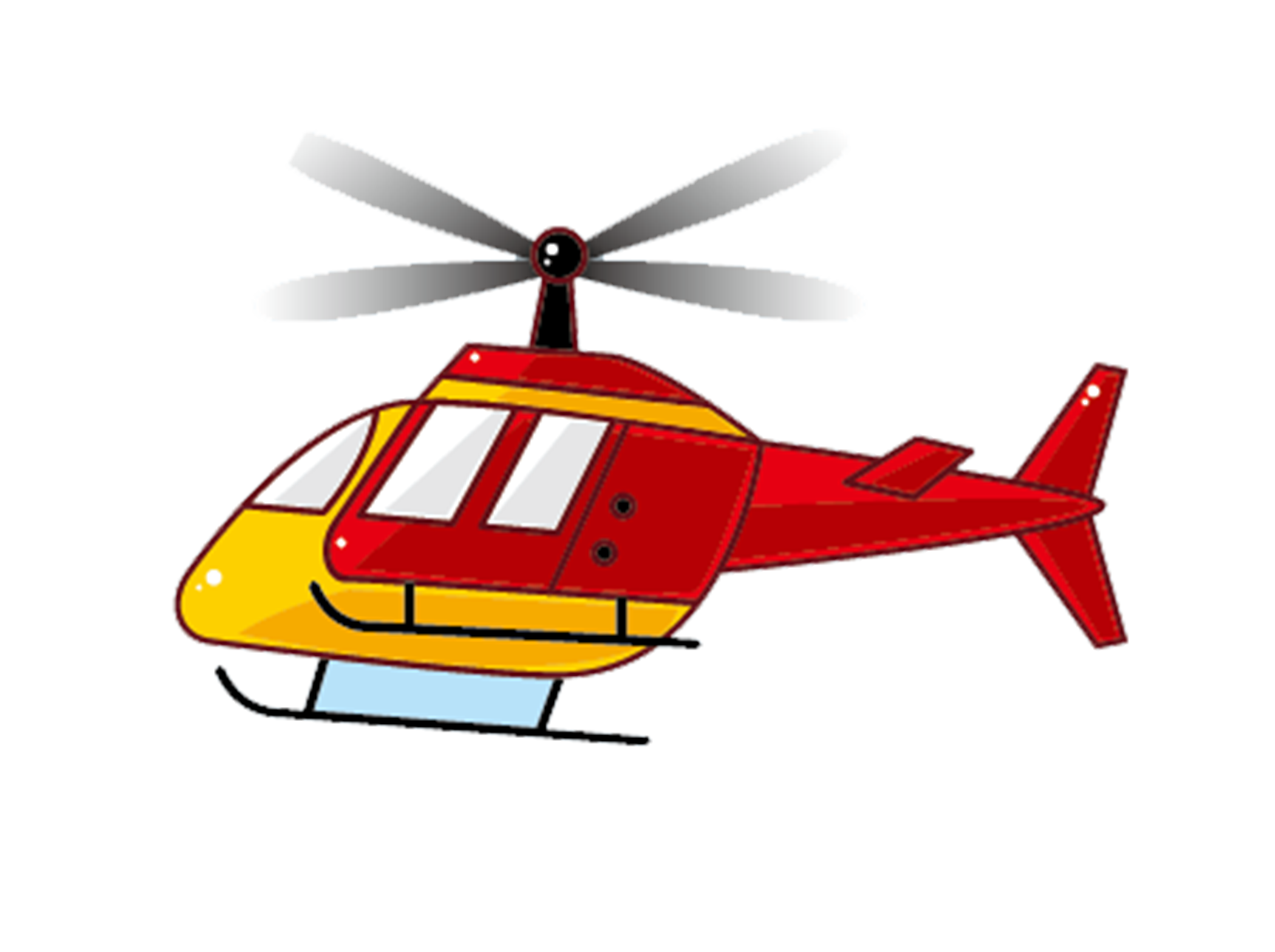 Cartoon helicopter png. Airplane aircraft flight transprent