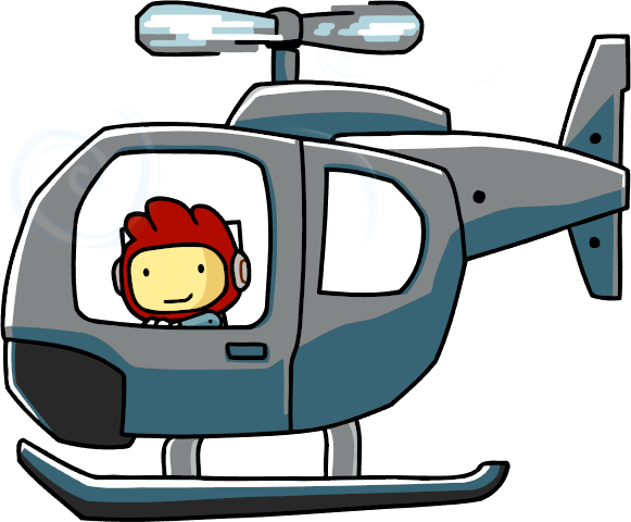 Cartoon helicopter png. Image scribblenauts wiki fandom