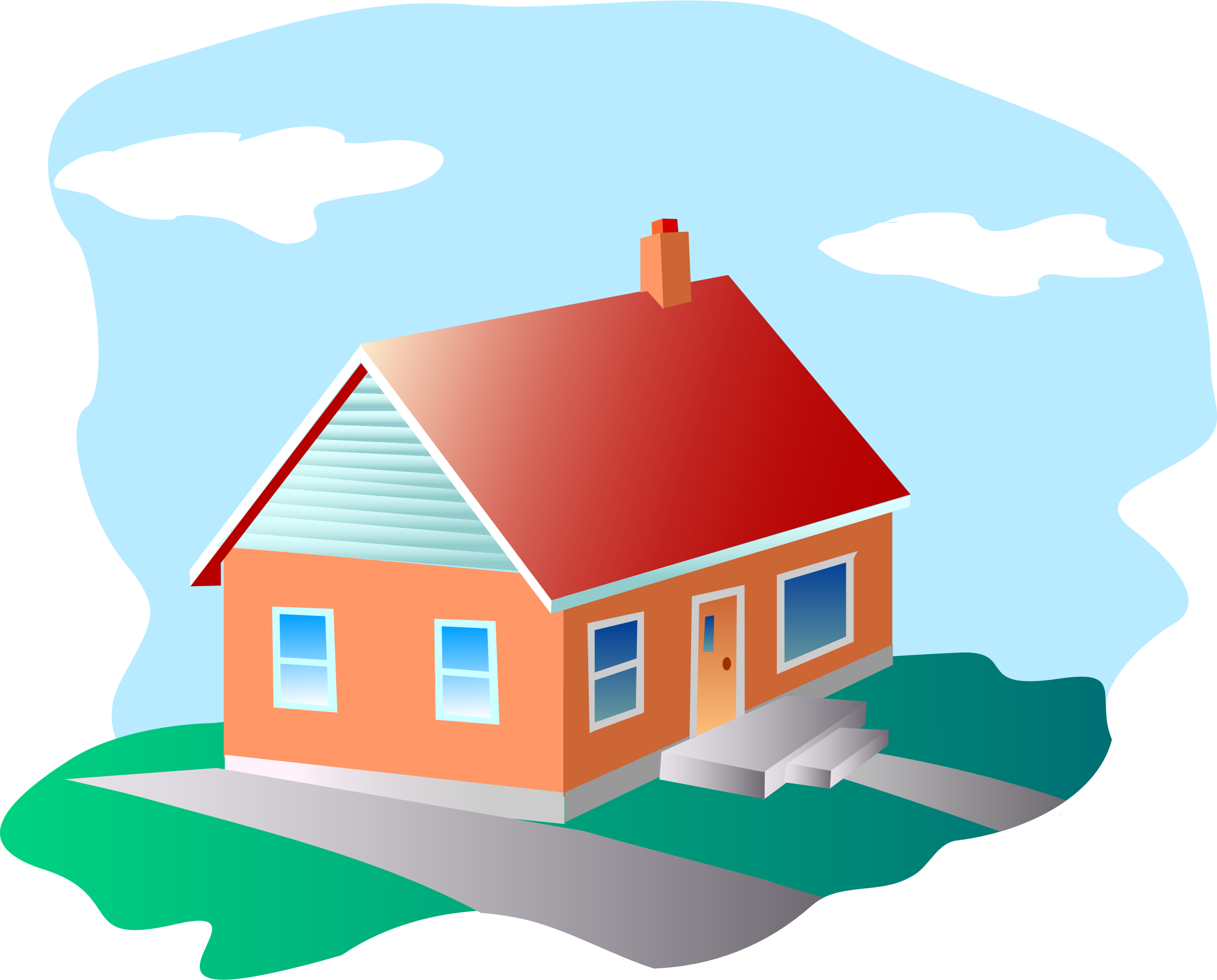 Cartoon home png. Clipart house big image