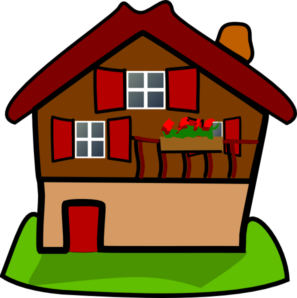 Cartoon house png. Clip art hd free