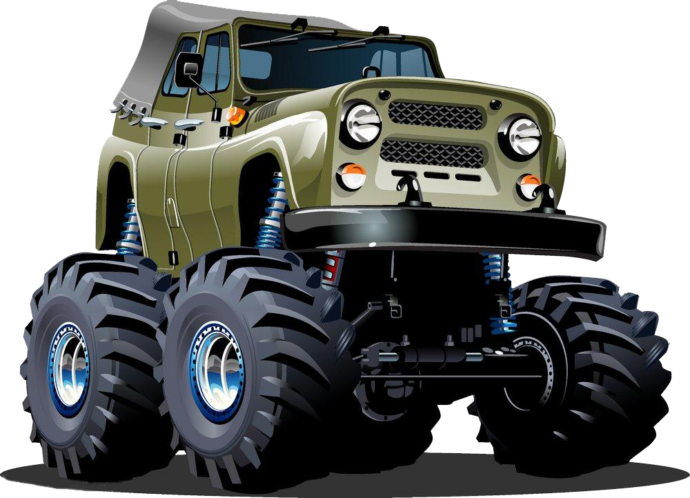 Cartoon jeep png. Sport utility vehicle army