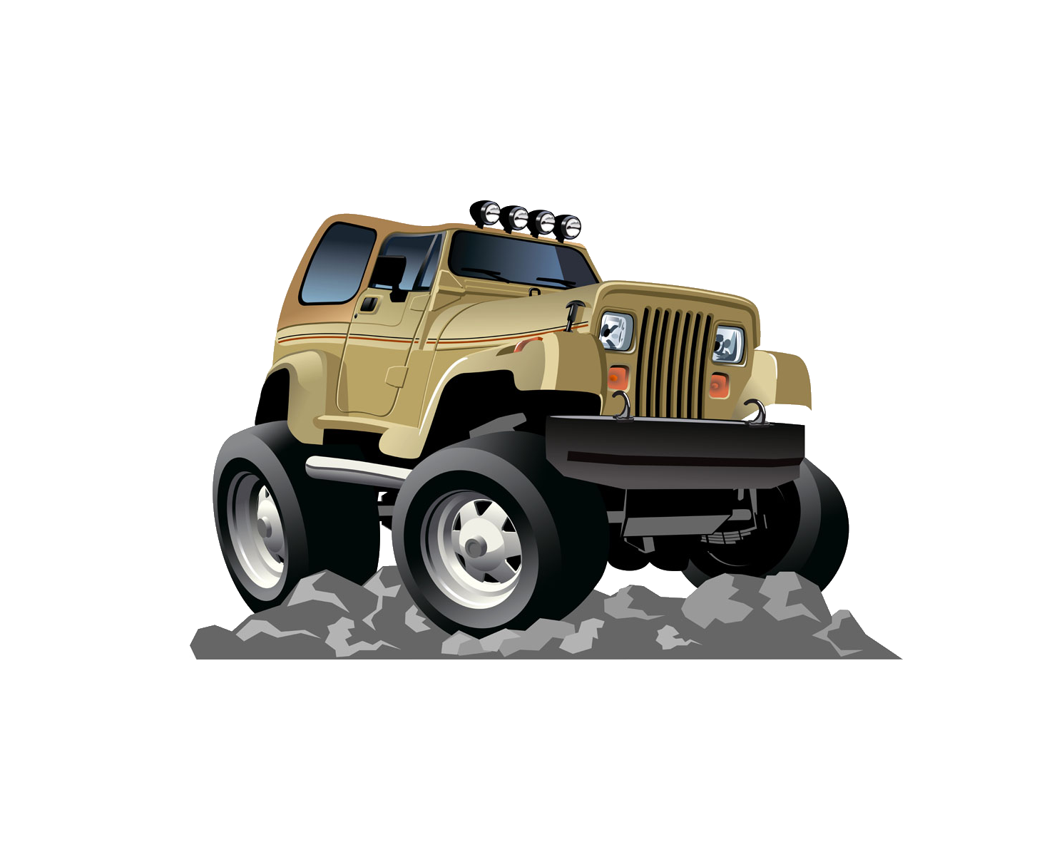 Cartoon jeep png. Stock photography transprent free