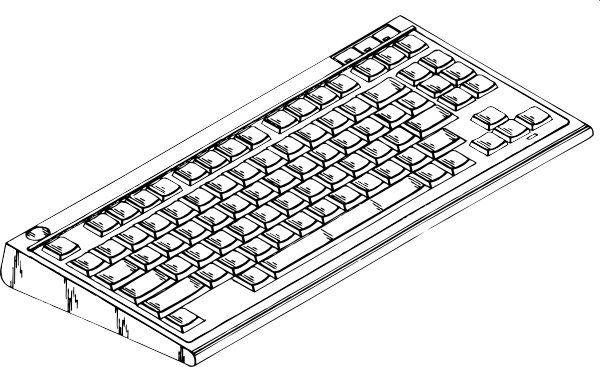 Cartoon keyboard png. Computer clip art at