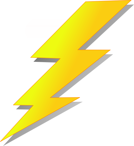 Cartoon lightning png. Strike clip art lighting
