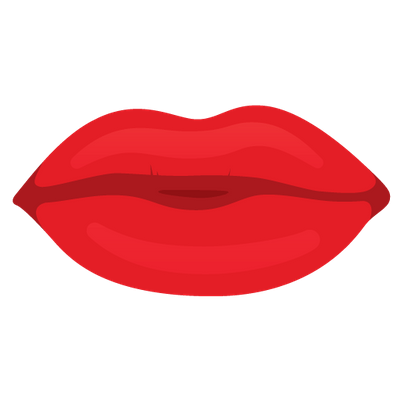 Cartoon lips png. Mouth transparent stickpng red