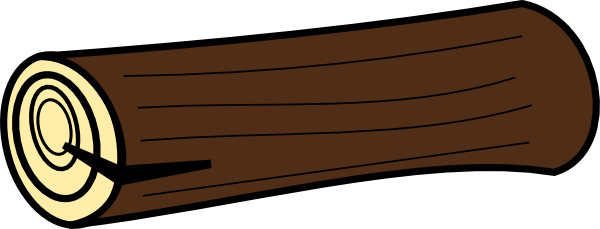 Drawing logs cartoon. Log clipart free images
