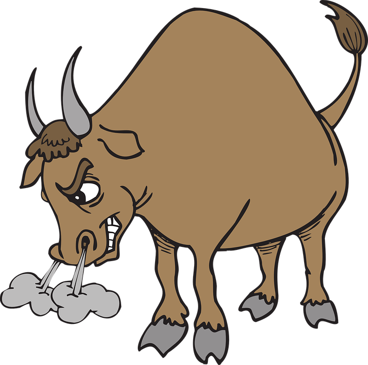 Cartoon mean bull png. Angry transparent images pluspng