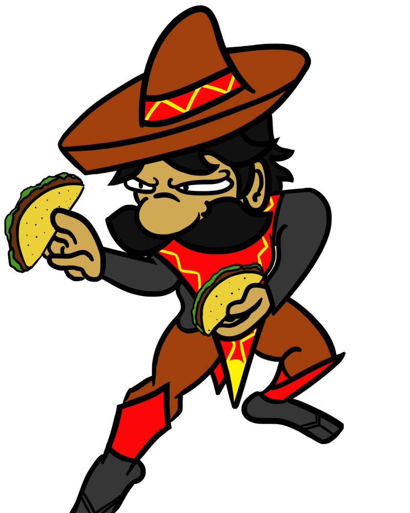 Mexican guy png. And a ninja added