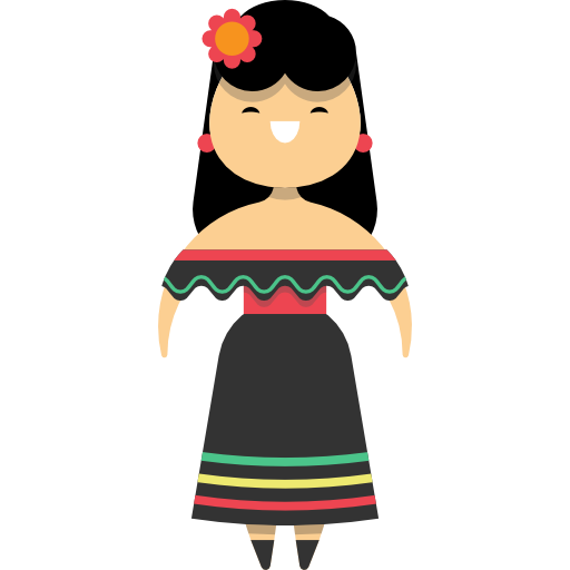 Mexican people png. Woman mexico traditional ethnic