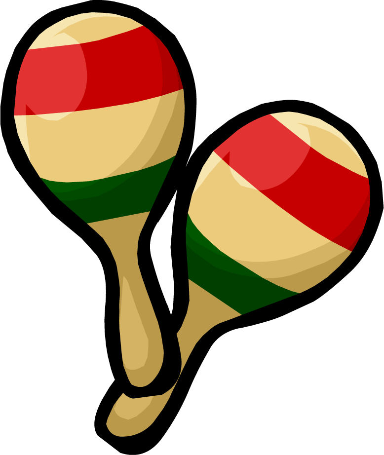 Image pair of clothing. Maracas drawing vector freeuse stock