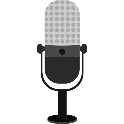 Cartoon microphone png. Free technology icons icon