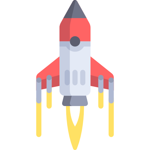 Space shuttle launch png. Rocket ship icon svg