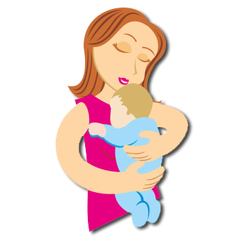 Cartoon mom png. Mother baby prematures free