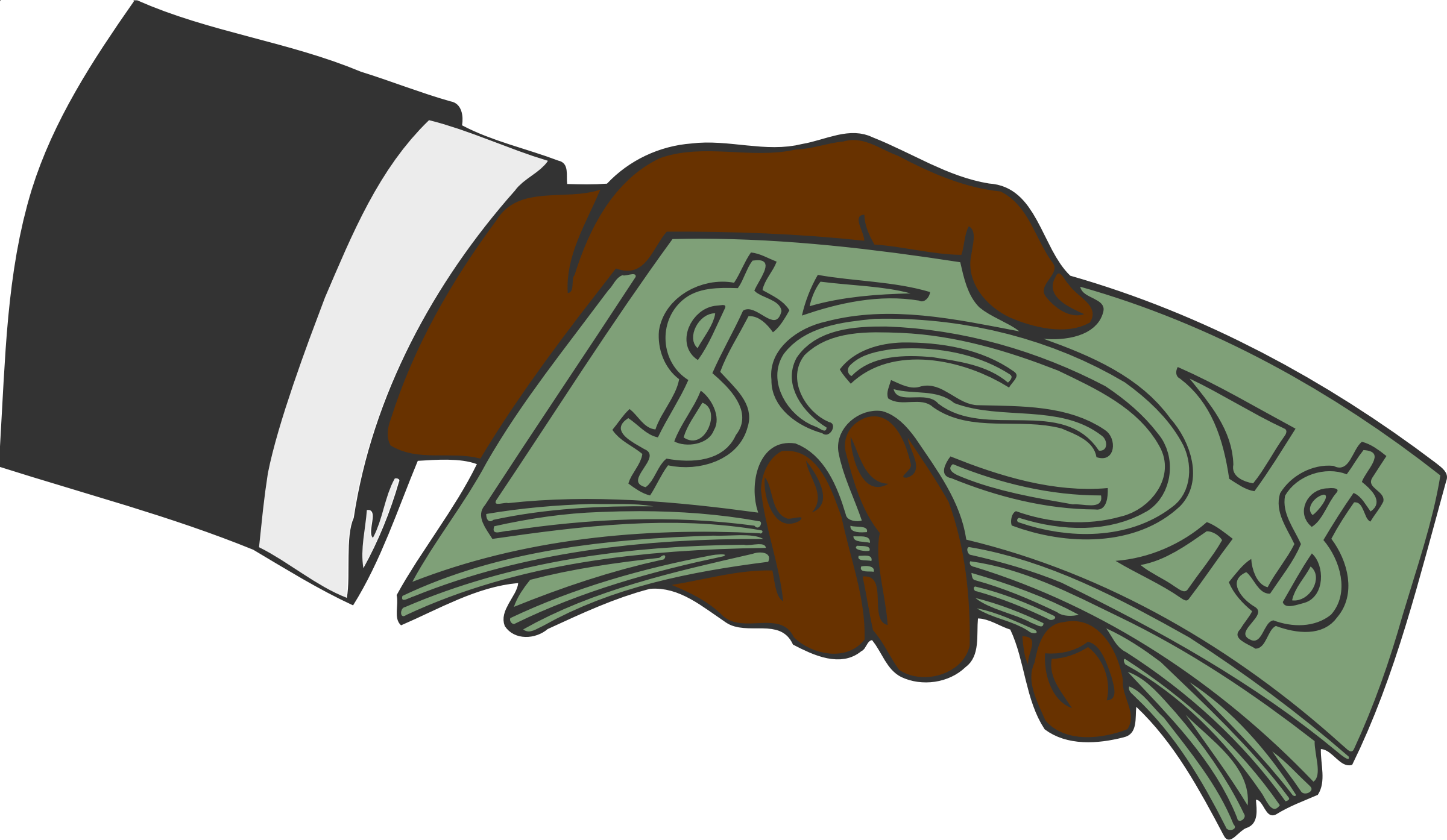 Cartoon money png. Hand offering icons free