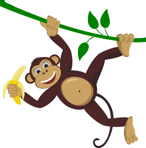 Cartoon monkey png. Transparent pictures free icons
