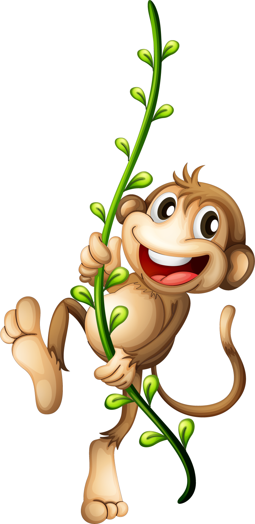 Cartoon monkey png. Transparent free images only