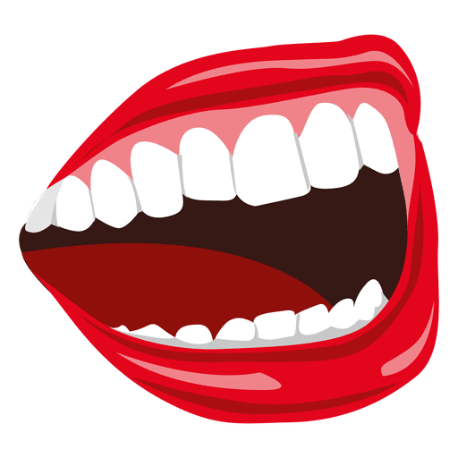 smirk vector cartoon mouth