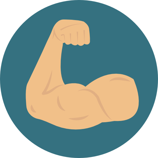 Cartoon muscle png. Transparent images all