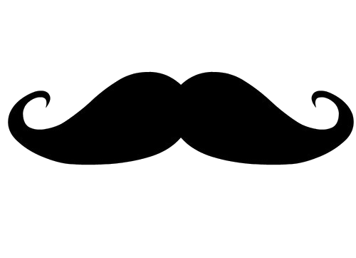 mustache png old