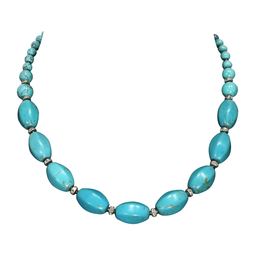 Cartoon necklace png. Turquoise by adagem on