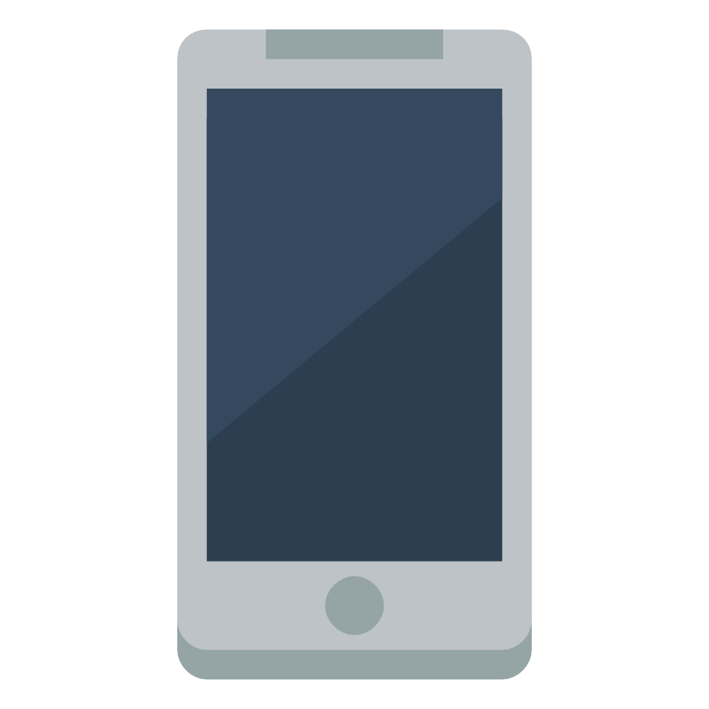 Cartoon phone png. Device mobile icon small