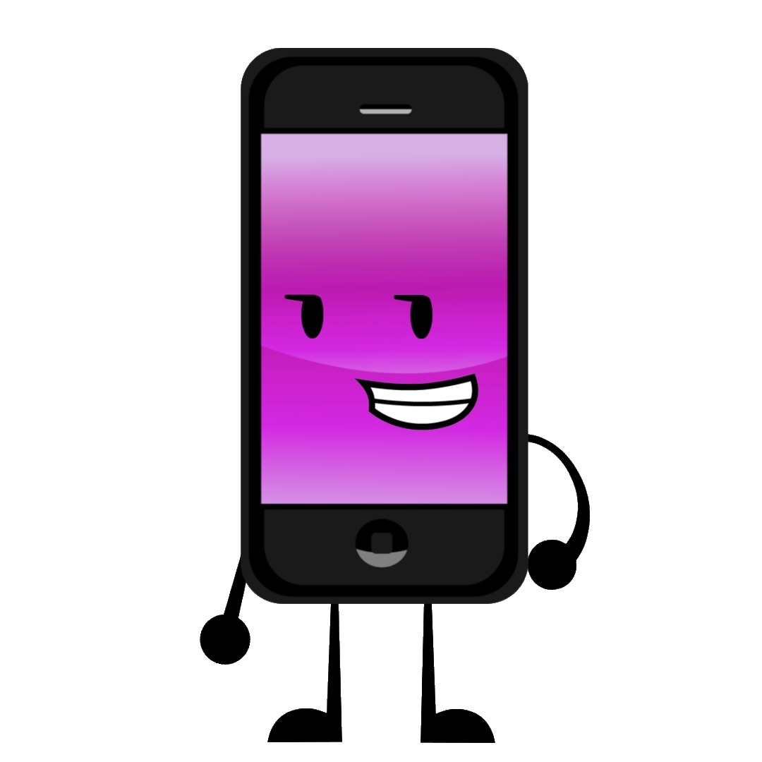 Cartoon phone png. Image object oppose wikia