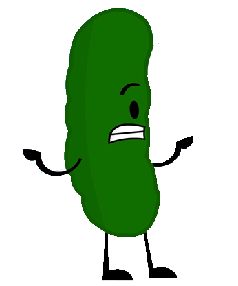 Cartoon pickle png. Image inanimate insanity wiki