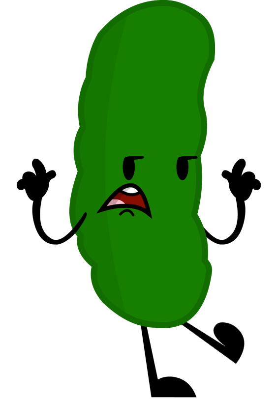 Cartoon pickle png. Image new pose object